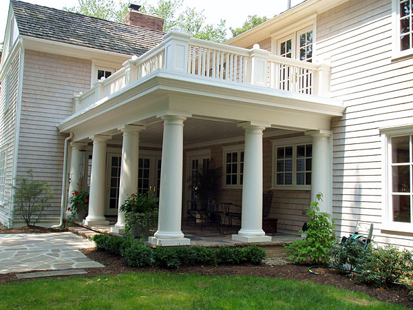 Chadsworth columns photo gallery for Fiberglass architectural columns