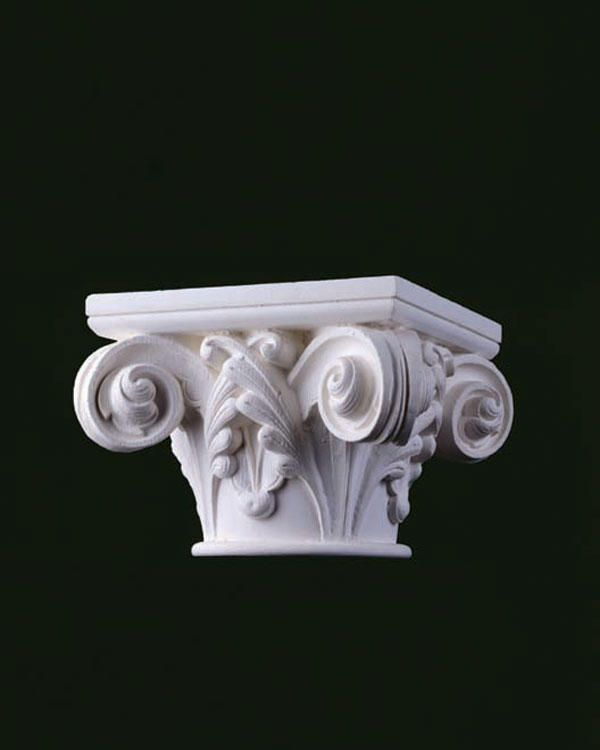 Gothic Capital Ionic Order Material Wood Grain Variety Of Sizes